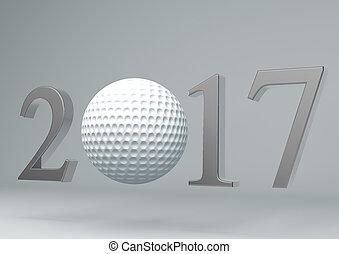 2017 golf ball