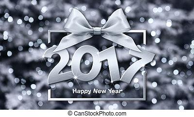 2017 Happy New Year text