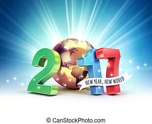 2017 Joyful worldwide symbol