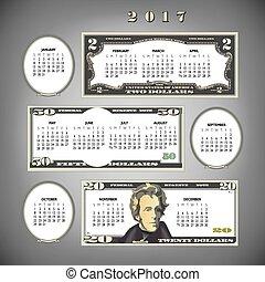 2017 money calendar