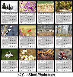 2017 nature calendar