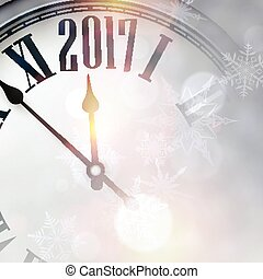 2017 New Year background.