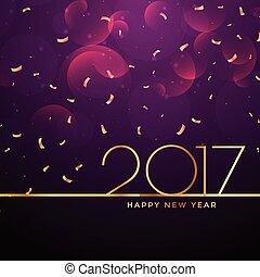 2017 new year celebration background