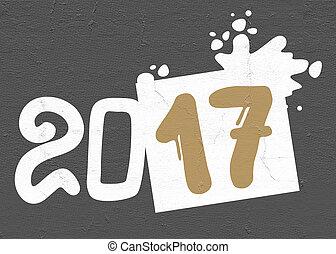 2017 new year symbol