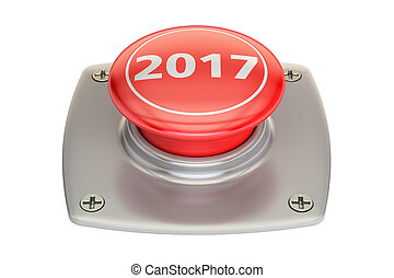 2017 Red Button, 3D rendering