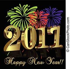 2017, szczęśliwy nowy rok