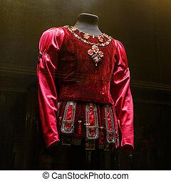 2017:, trajes, él, exposición, france., 1875, 31, garnier, ópera, construido, casa, marzo, paris., francia, palais, parís, era, parís, 1861