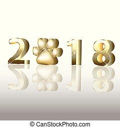 2018, 新年おめでとう