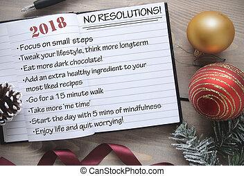 2018, 반대자, resolutions, 표