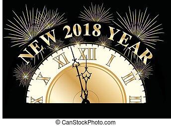 2018, anno, nuovo