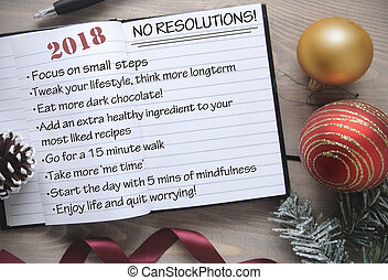 2018 anti resolutions list