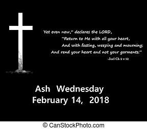 2018 ash wednesday date icon - 2018 ash Wednesday date icon...