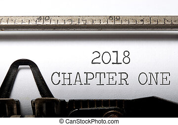 2018 chapter one