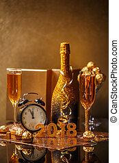 2018, de vooravond van het nieuwe jaar