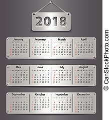 2018 English calendar_tablet