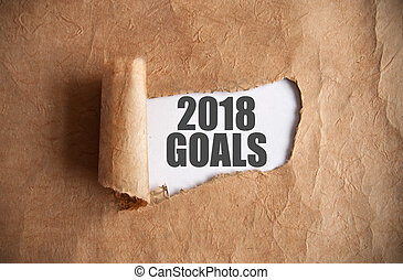 2018 goals uncovered