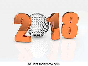 2018 golf ball