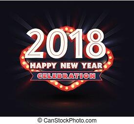2018 Happy New Year celebration