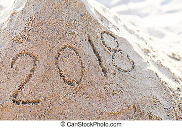 2018 New Year image