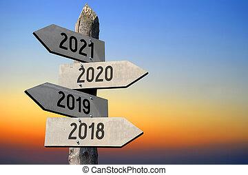 2018/, -, signpost/, 2020/, 2021, 2019/, roadsign