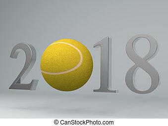 2018 tennis ball