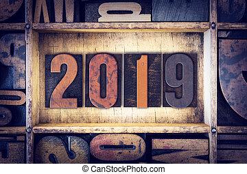 2019, 概念, タイプ, 凸版印刷
