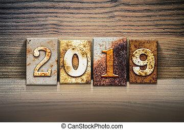 2019 Concept Letterpress Theme