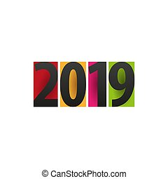 2019 Happy New Year Background for your Seasonal Flyers and Greetings Card or Christmas themed invitations.