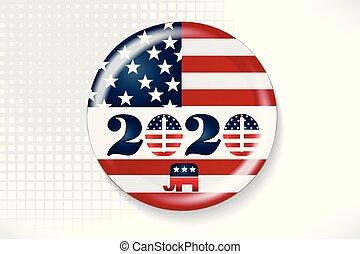 2020, élection, jour