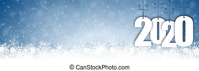 2020, 秋, 雪, 背景, 年, クリスマス, 新しい