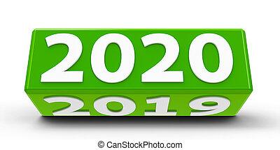 2020-2019, αγίνωτος ανάγω αριθμό στον κύβο
