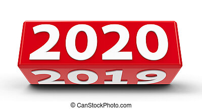 2020-2019, cube rouge