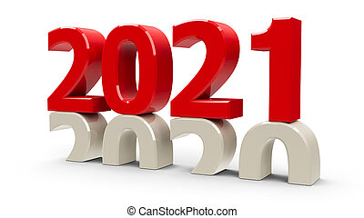 2020-2021 Red New year #3