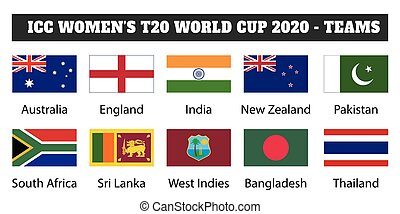 2020 ICC Women's T20 World Cup - teams.