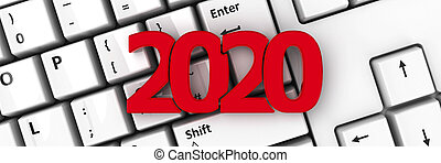 2020 icon on keyboard #2