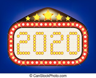 2020 Movie Theatre Marquee