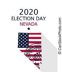 2020 Nevada vote card