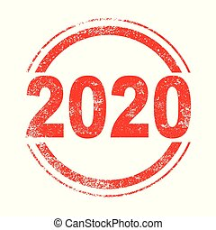 2020 Red Ink Stamp