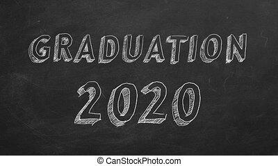 2020, remise de diplomes