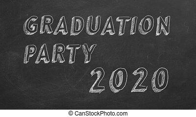 2020., remise de diplomes, partie.