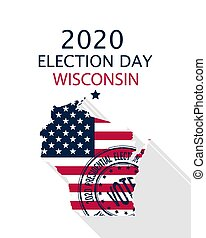 2020 Wisconsin vote card