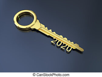 2020 with Gold Key