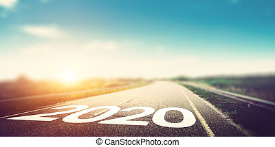 2020 year natural outdoor background