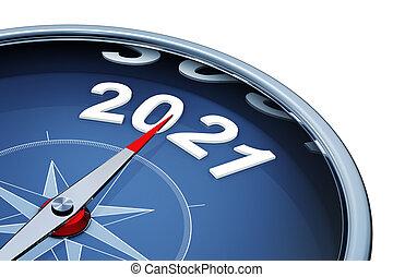 2021, 年