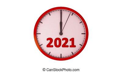 2021, horloge