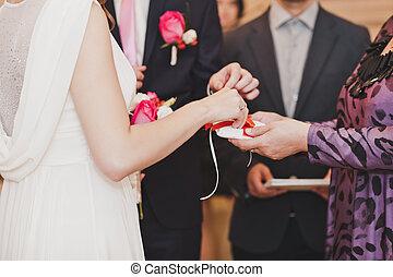 2092, 交換, 戒指, 婚禮