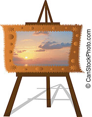 209(9).jpg - Vector Easel Illustration