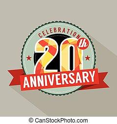20th Years Anniversary Celebration.