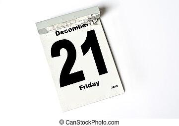 21. December 2012