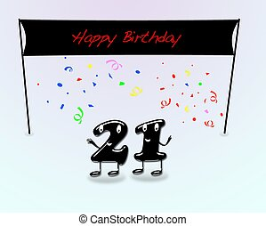 21th birthday party.